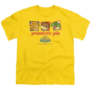 Land Before Time/Prehistoric Pals Short Sleeve Youth 18/1 in Yellow