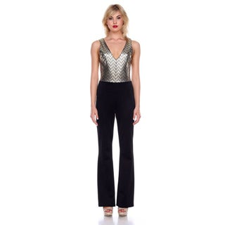 Stanzino Women's Sequined Jumpsuit