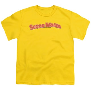Tootsie Roll/Sugar Mama Short Sleeve Youth 18/1 in Yellow