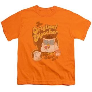 Tootsie Roll/Original Moocher Short Sleeve Youth 18/1 Orange
