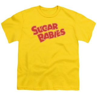Tootsie Roll/Sugar Babies Short Sleeve Youth 18/1 in Yellow