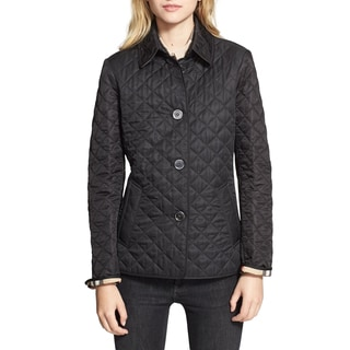 Burberry Copford Black Polyester Quilted Jacket