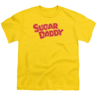 Tootsie Roll/Sugar Daddy Short Sleeve Youth 18/1 in Yellow