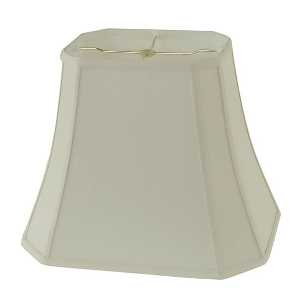 Rembrandt 1640 Creme Fabric Square-cut Bell Lamp Shade