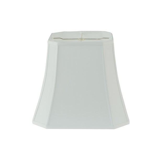 Rembrandt 1640 White Fabric Square-cut Bell Lamp Shade