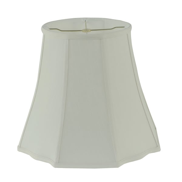 Rembrandt 1640 Creme Fabric Curved Corners Bell Lamp Shade