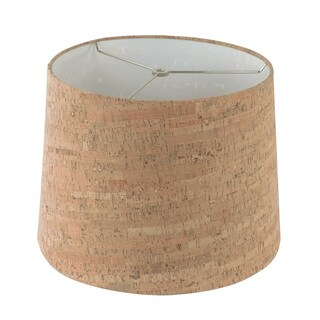 Tan Cork Hardback Empire Lamp Shade