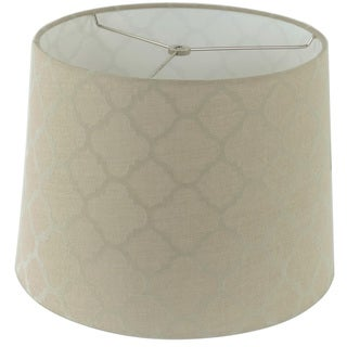 Tan Linen Hardback Empire Lamp Shade