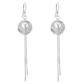 Orchid Jewelry 925 Sterling Silver Earrings
