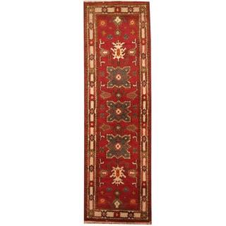 Herat Oriental Indo Hand-knotted Tribal Kazak (2'2 x 6'1)