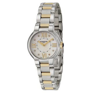 Raymond Weil Women's Jazzmaster Stainless Steel Swiss Quartz Watch