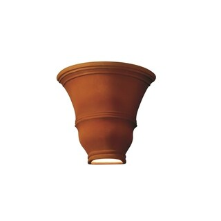 Justice Design Group Ambiance Real Rust Wall Sconce