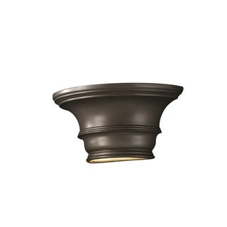 Justice Design Group Ambiance Silver Wall Sconce