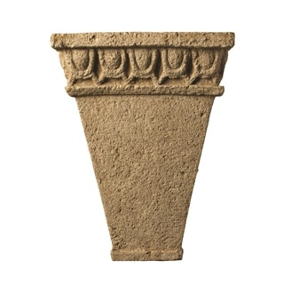 Justice Design Group Tuscan Garden Navarro Sand Wall Sconce