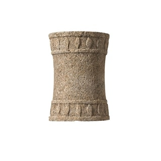 Justice Design Group Tuscan Garden Mocha Travertine Wall Sconce