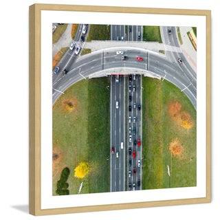 Marmont Hill - 'Underpass' by Karolis Janulis Framed Painting Print