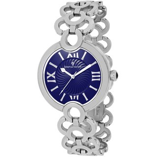 Christian Van Sant Women's CV2812 Twirl Blue Watch