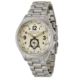 Hamilton Stainless Steel Watch