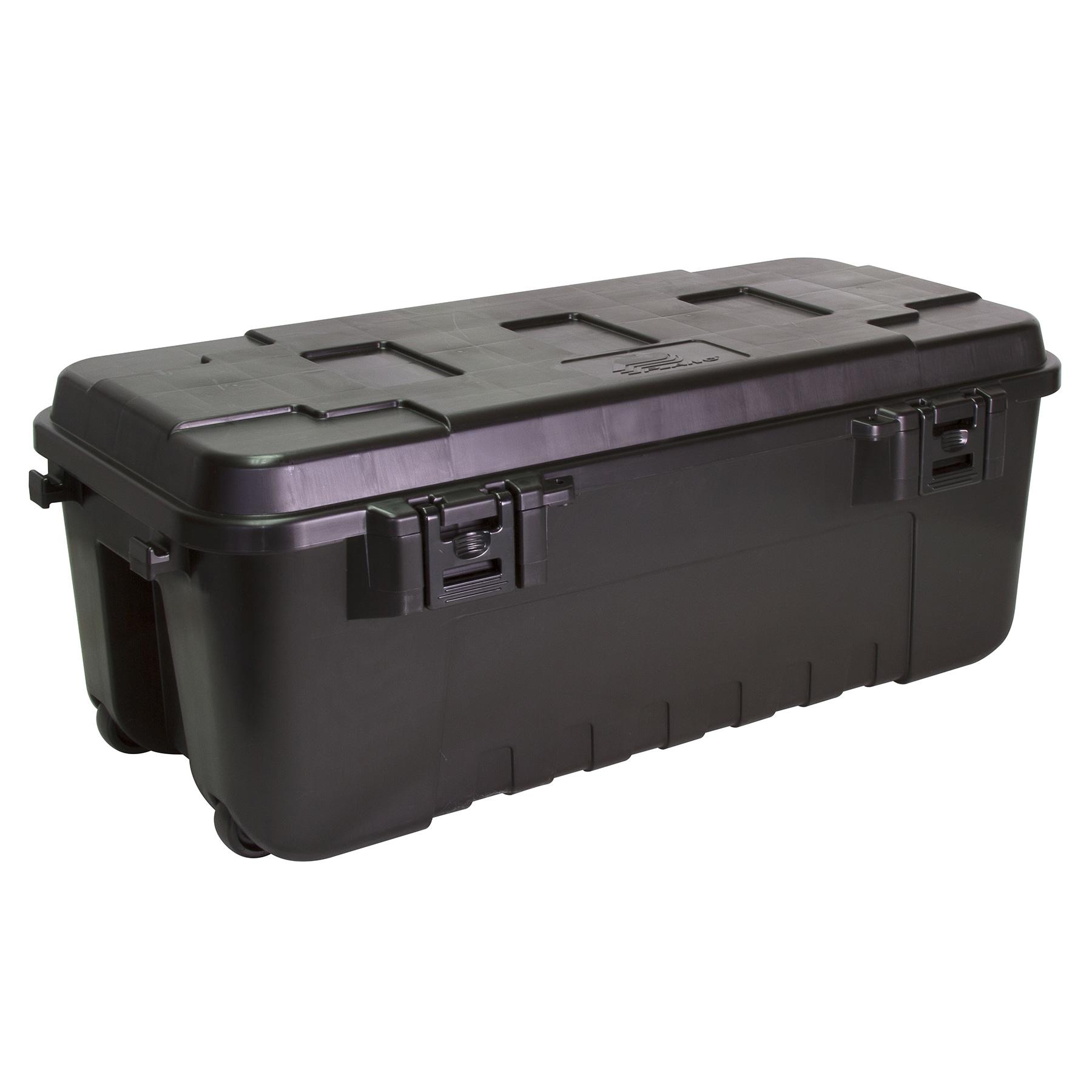 Plano 1919-00 108 Quart Black Storage Trunk (Other Storage)