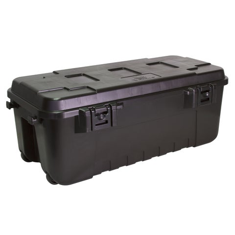 Plano 1919-00 108 Quart Black Storage Trunk