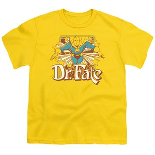 DC/Dr Fate Stars Short Sleeve Youth 18/1 in Yellow