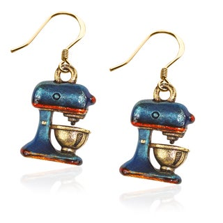 Mixer Charm Earrings in Gold