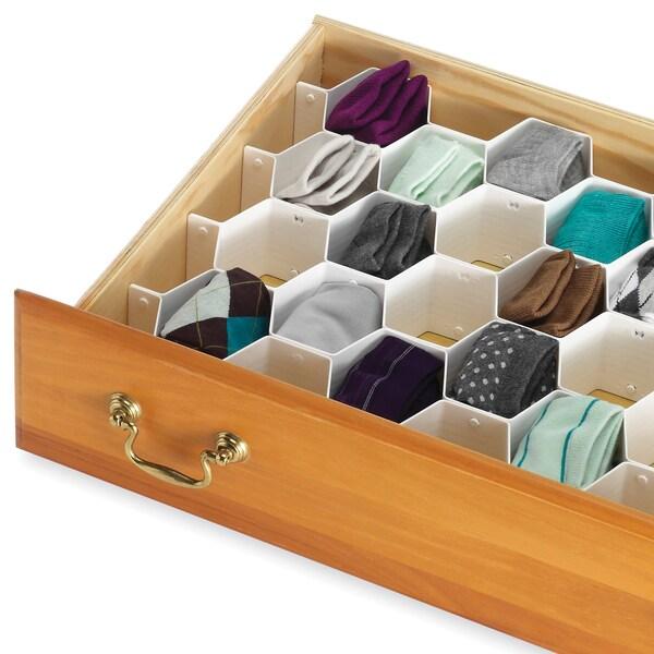 Whitmor 6025-3928 Honeycomb Drawer Organizer