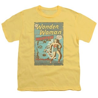 DC/Ww Wanted Short Sleeve Youth 18/1 in Banana