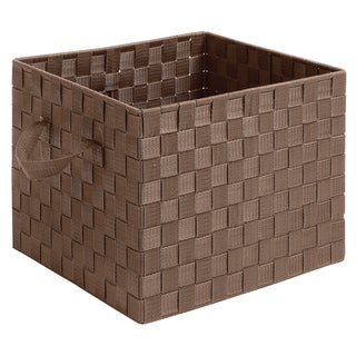 Whitmor 6581-2024-JAVA Woven Storage Crate w/ Straps