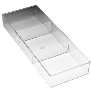 Whitmor 6789-3066 3 Section Clear Drawer Organizer