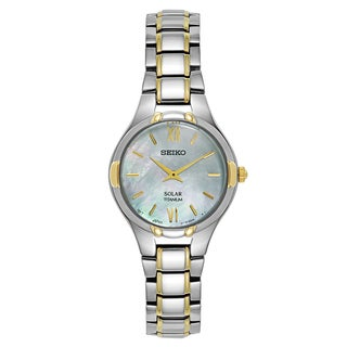 Seiko Men's Coutura Stainless Steel/Yellow Gold-plated Watch