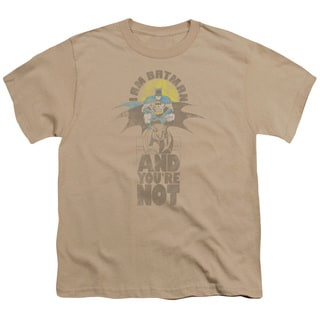 DC/And You're Not Short Sleeve Youth 18/1 in Sand