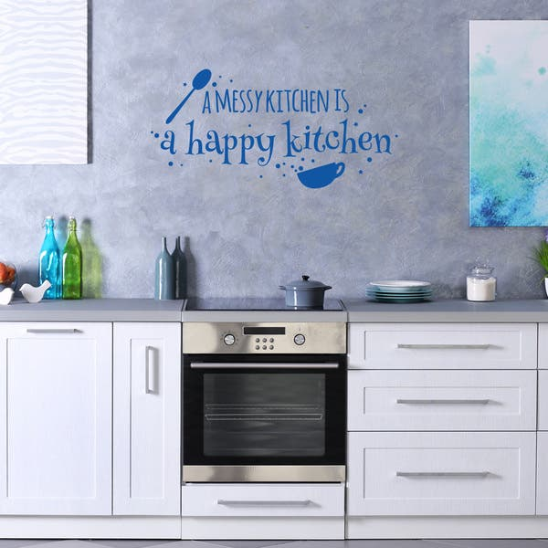 Shop Syle And Apply Happy Kitchen Wall Decalstickermural
