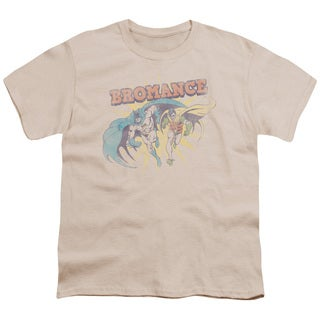 DC/Bromance Short Sleeve Youth 18/1 in Cream