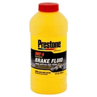 Prestone AS800Y 12 Oz Dot 4 Brake Fluid