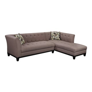 Emerald Marion Tobacco Transitional Chaise Sectional