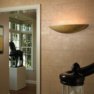 Justice Design Group Ambiance Harvest Yellow Slate Wall Sconce