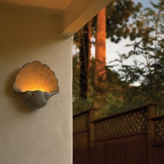 Justice Design Group Ambiance Mocha Travertine Wall Sconce