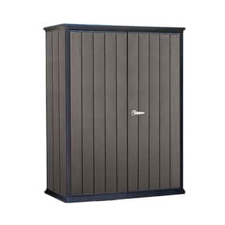 Keter High Store Resin Wood Look and Feel Outdoor Garden Storage Shed|https://ak1.ostkcdn.com/images/products/12806662/P19576208.jpg?impolicy=medium