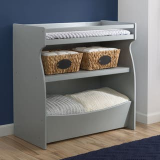 Delta Children 2-in-1 Changing Table & Storage Unit, Grey|https://ak1.ostkcdn.com/images/products/12806759/P19576232.jpg?impolicy=medium