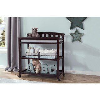 Delta Children Freedom Changing Table with Casters, Dark Chocolate