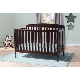 Delta Children Brayden 4-in-1 Convertible Crib - Dark Chocolate