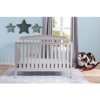 Delta Children Brayden 4-in-1 Convertible Crib - Grey
