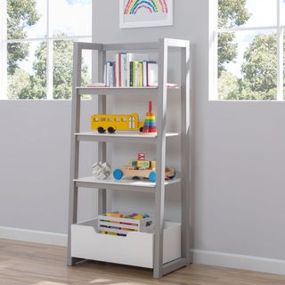 Delta White and Grey Children Ladder Shelf