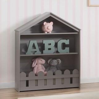 Delta Children Serta Happy Home Grey Storage Bookcase