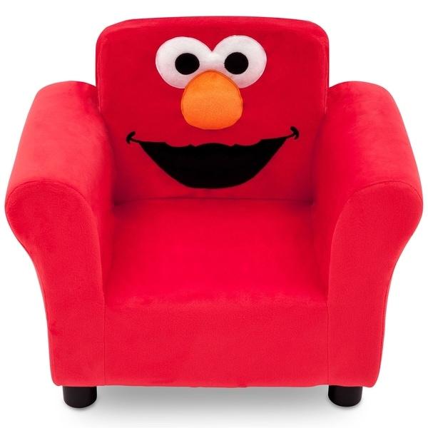 Shop Delta Children Sesame Street Elmo Upholstered Chair
