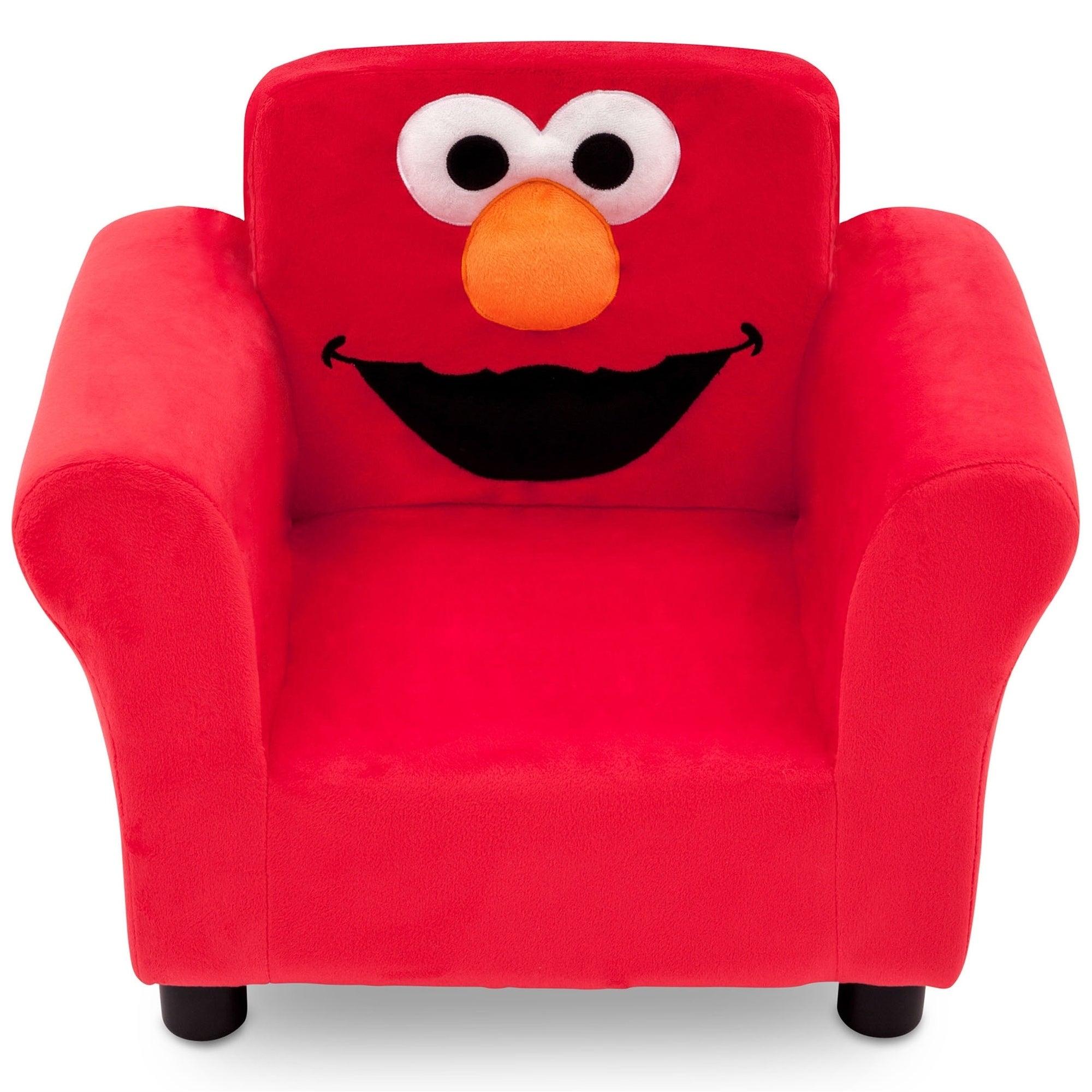 Delta Children Sesame Street Elmo Upholstered Chair (Sesa...