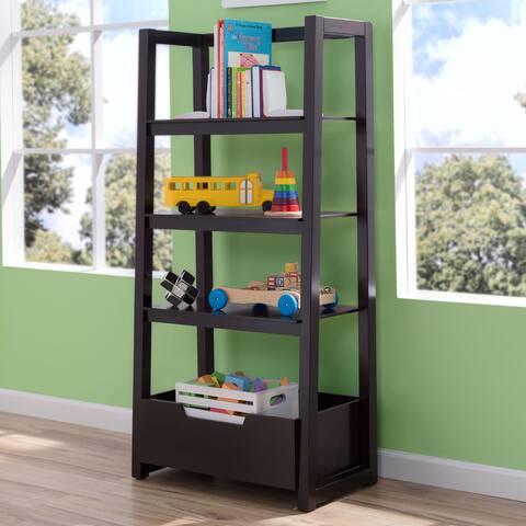 Delta Children Dark Chocolate Ladder Shelf