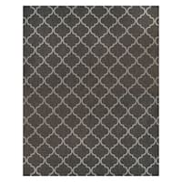 Studio by Brown Jordan Hastings Gray Polypropylene Area Rug (7'10 x 10')