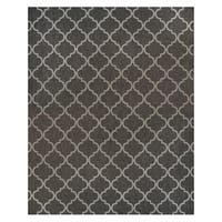 Studio by Brown Jordan Hastings Gray Polypropylene Area Rug - 7'10 x 10'